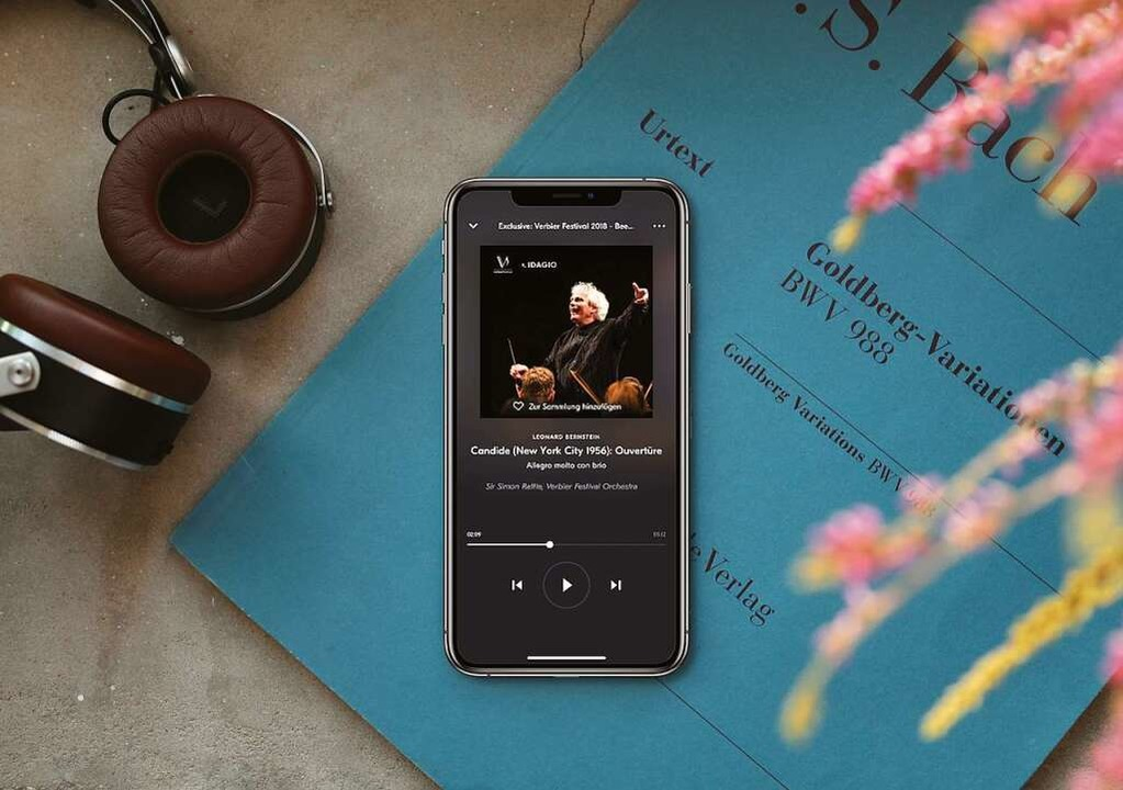 Klassik – gestreamt: Fast zweiei...ie Klassik-App Idagio heruntergeladen.  | Foto: Idagio
