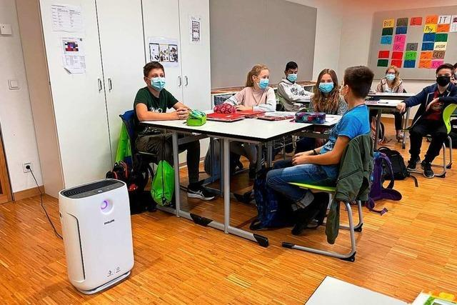 Weil sich die Fenster nicht öffnen lassen: Johanniterschule nutzt Luftreiniger