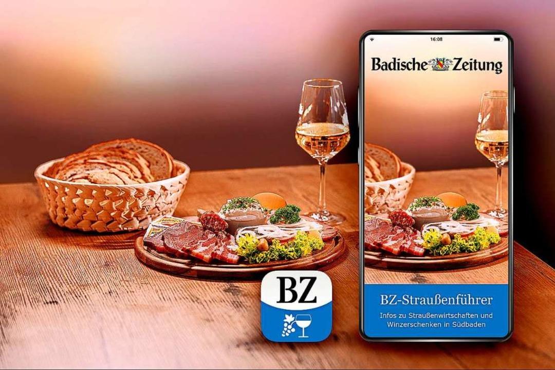 Außerdem enthalten im Wanderpaket der ...Zugriff auf die BZ-Straußenführer-App.    Foto: Fabio Smitka