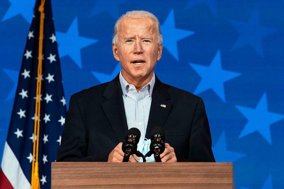 Biden for Breisgau  | Foto: Carolyn Kaster (dpa)