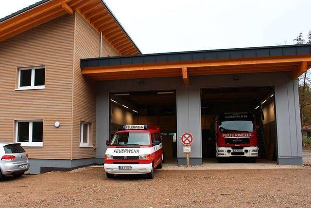 Die Feuerwehr in Utzenfeld bezieht ihr neues Domizil