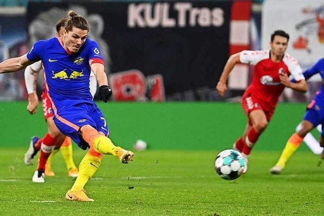 Drei Standards, drei Tore: Freiburg kassiert 0:3-Niederlage in Leipzig