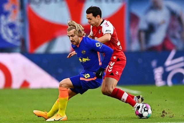 Nicolas Höfler hat gegen Leipzig Pech bei fragwürdigem Elfmeter