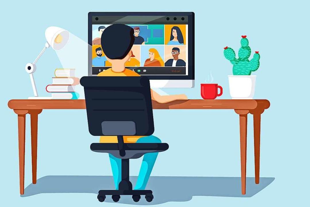 Obacht – bei Zoom-Meetings kann einiges schief gehen.  | Foto: Mykyta (stock.adobe.com)