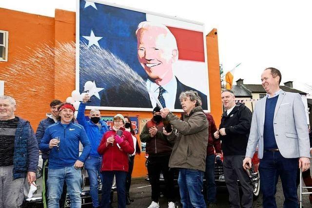 Irland feiert den Sieg seines Abkömmlings Joe Biden