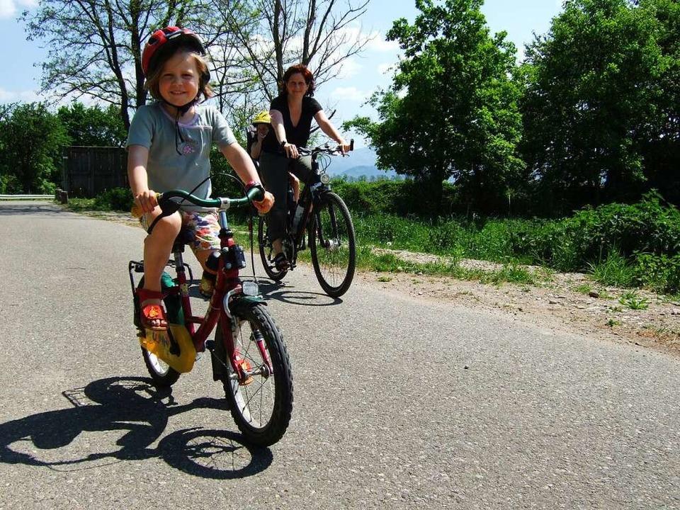 Eine Tour, bei der auch die Jüngsten i...paß haben, führt um den Opfinger See.   | Foto: Patrick Kunkel