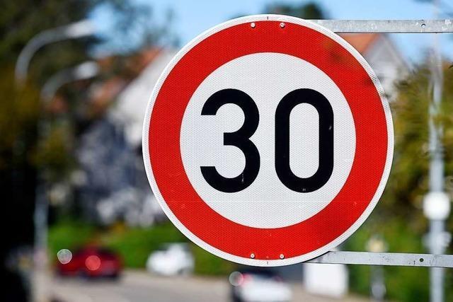 Nur vor einer Schule in Rheinfelden gilt nicht Tempo-30