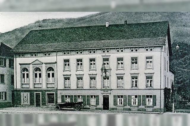 Gasthaus, Kino und Metzgerei