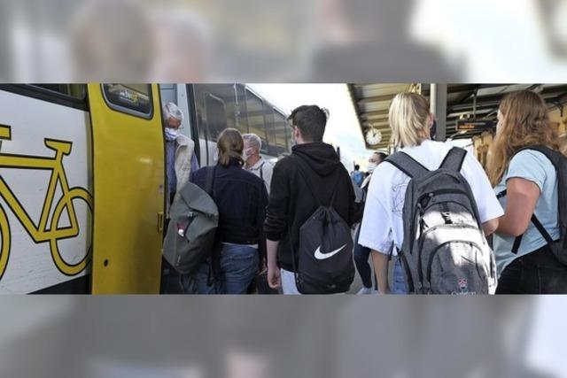 Darum sind die Züge auf der Hochrheinstrecke oft überfüllt