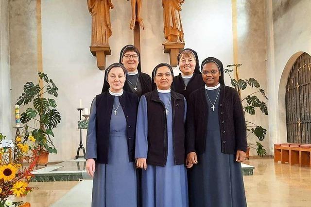 Schwestern von St. Trudpert werden weniger und ziehen sich etwas zurück