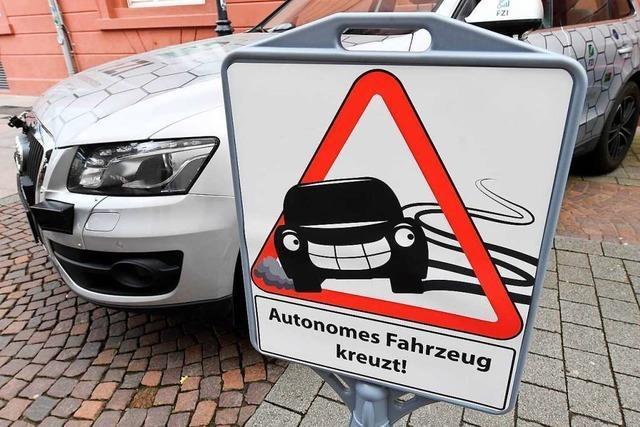 Beim autonomen Fahren geht Sicherheit vor Schnelligkeit