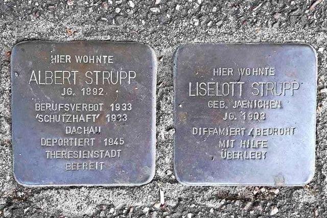 Albert Strupp überlebte den Holocaust mit Glück