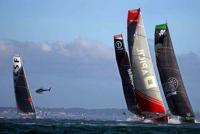 Deutscher segelt allein um die Welt