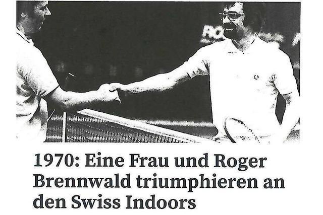 Wie Klaus Berger die Premiere der Swiss Indoors in Jeans gewann