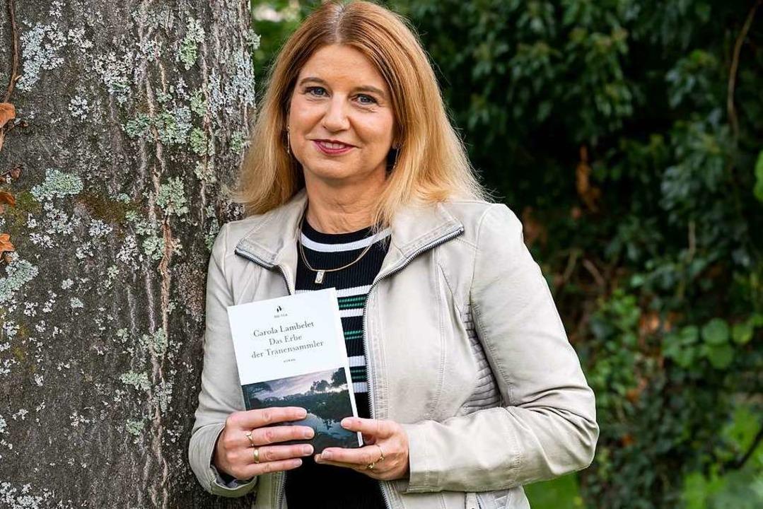 Carola Lambelet hat ihren zweiten Roman veröffentlicht.  | Foto: Rolf Reißmann