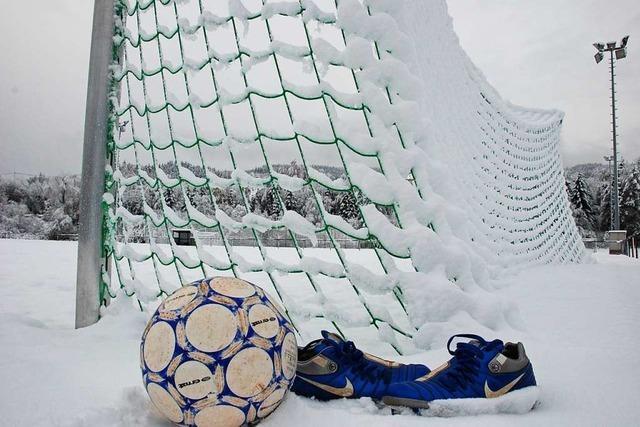 Südbadischer Amateurfußball geht in die Winterpause – keine Spiele mehr in 2020