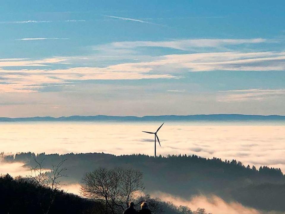 Rheinebene im Nebel.    Foto: Robert Arnitz