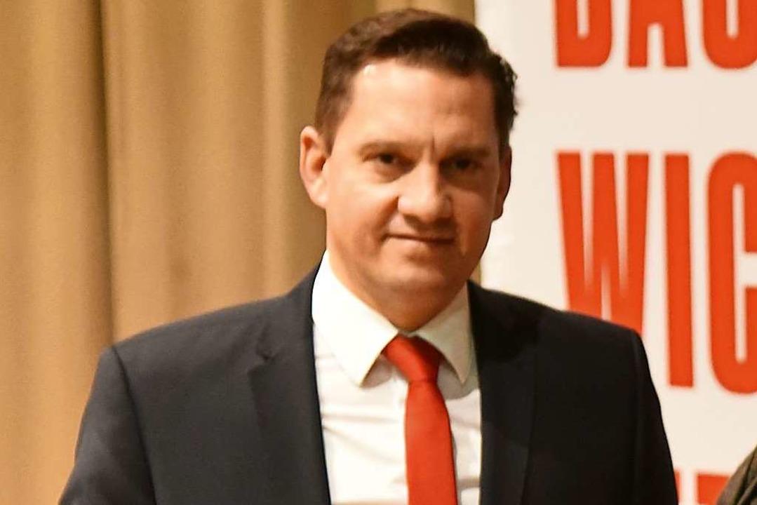 Johannes Fechner, SPD, kandidiert zum ...ür den Wahlkreis Emmendingen und Lahr.  | Foto: Benedikt Sommer
