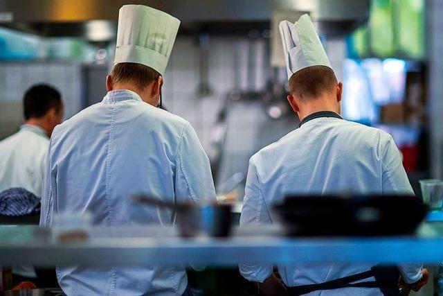 Der zusätzliche Ausbildungsstart ist eine wichtige Hilfe für Gastronomen