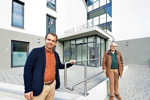 In Freiburg-St. Georgen gibt es nun Pflegewohnen mit Sozialstation