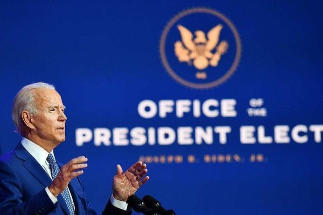 Der Sieg von Joe Biden ist eine Chance für die EU