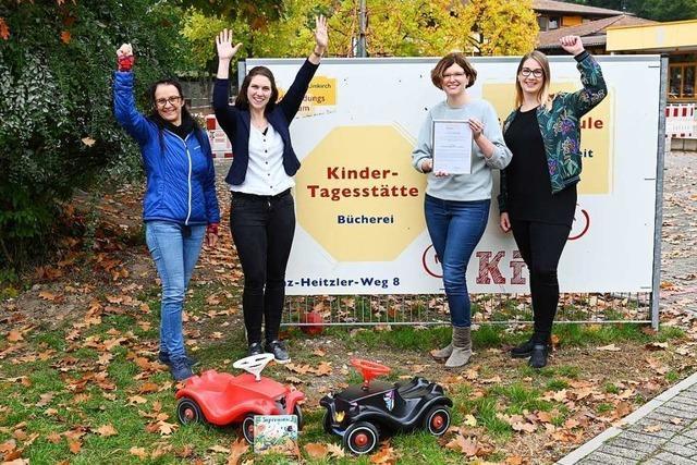 Kinderbildungszentrum in Umkirch wird für Leseförderung ausgezeichnet