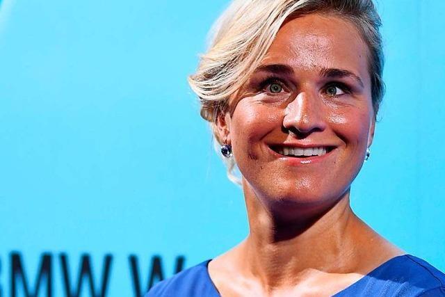 Blind, mutig, sozial engagiert: Der deutsche Sport ehrt Verena Bentele
