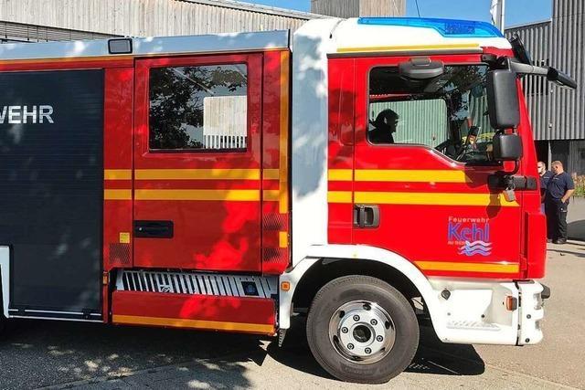 Die Feuerwehr Steinenstadt bekommt ein neues Löschfahrzeug