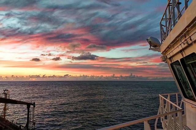 Isoliert über Monate: Wie eine nautische Wachoffizierin die Pandemie auf See erlebt