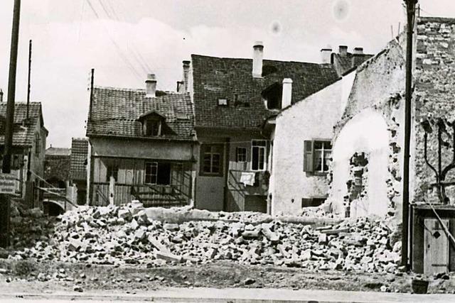 Am 10. November 1938 wurde die Lörracher Synagoge verwüstet