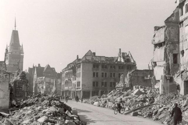 Bombennacht in Freiburg: Wo der Angriff heute noch sichtbar ist