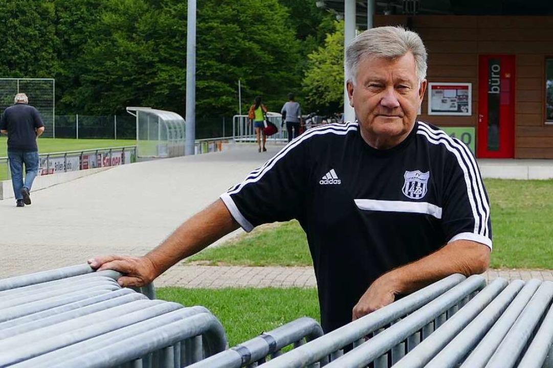 Bernd Schleith steht zur Wahl bereit, ...s FV Lörrach-Brombach fehlt weiterhin.  | Foto: Peter Gerigk