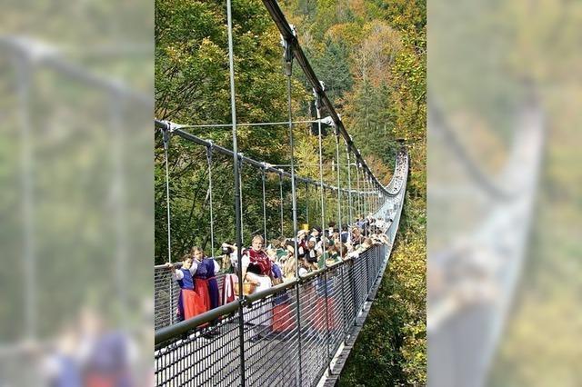 Offene Fragen zur neuen Hängebrücke