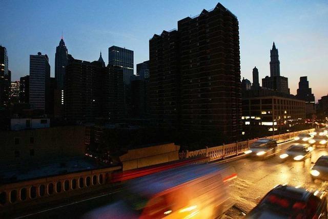 Don DeLillo löscht New York das Licht