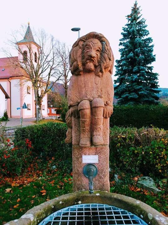 Der Narrenbrunnen in Horben  | Foto: Sophie Diehr