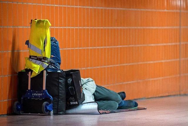 Probleme für Obdachlose wegen Corona-Schulden und nahendem Winter