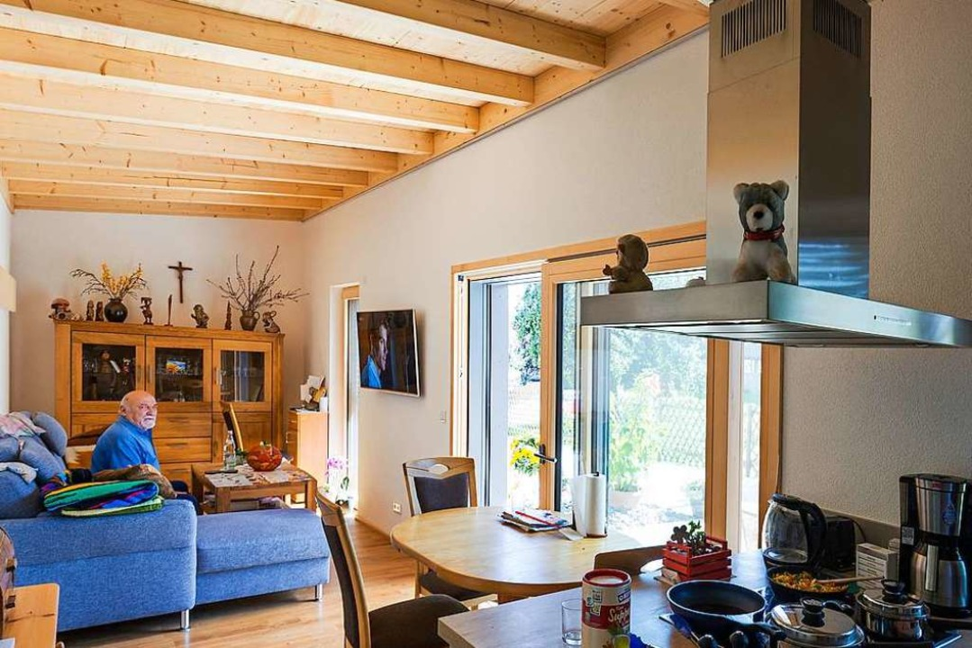 Klein, aber fein: die Mini-Häuser in Ewattingen.    Foto: Daniel Schoenen