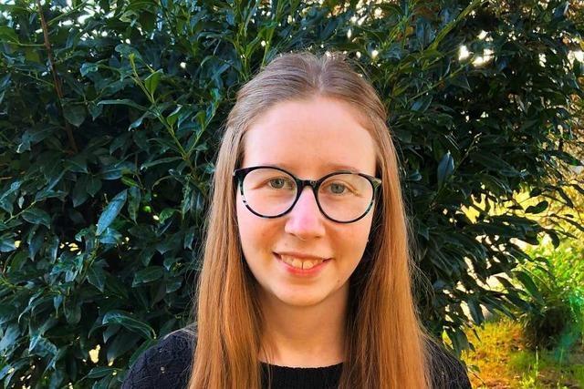 Maren Faißt ist Kammersiegerin als Kauffrau für Büromanagement