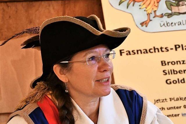 Die Rheinfelder Bürgermeisterin Diana Stöcker ist Lörracher Fasnachtsprotektorin