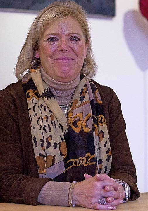 Sabine Wölfle in ihrem Wahlkreisbüro; ...Direktmandat im Wahlkreis Emmendingen.  | Foto: Patrik Müller