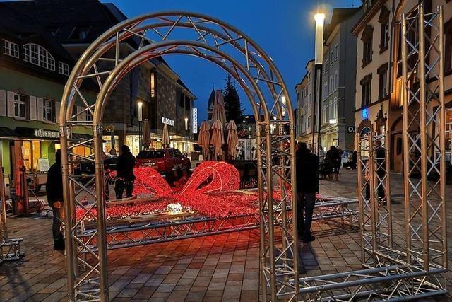Offenburg rüstet beim Weihnachtsflair kräftig auf