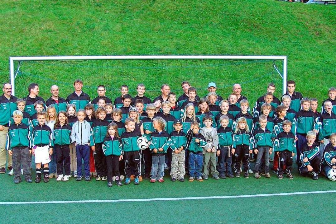 Die Fußballjugend im Jubiläumsjahr  | Foto: Sportfreunde Marzell