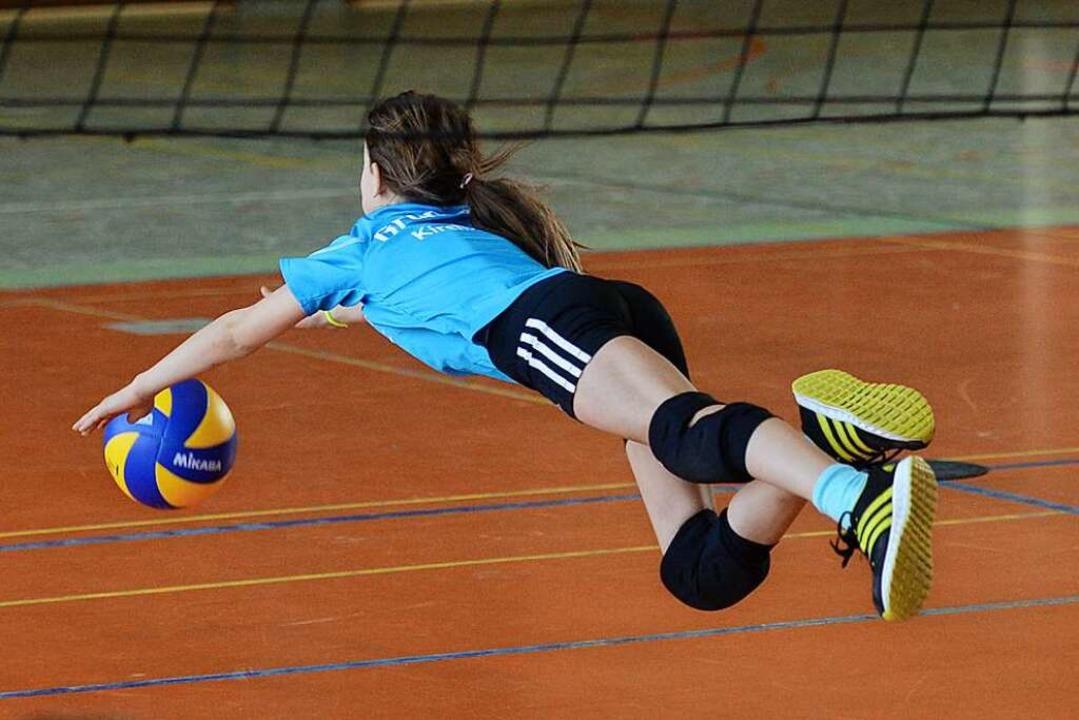 Volleyball gehört zu den Disziplinen, ...ie-Bedingungen ausgeübt werden können.  | Foto: Patrick Seeger