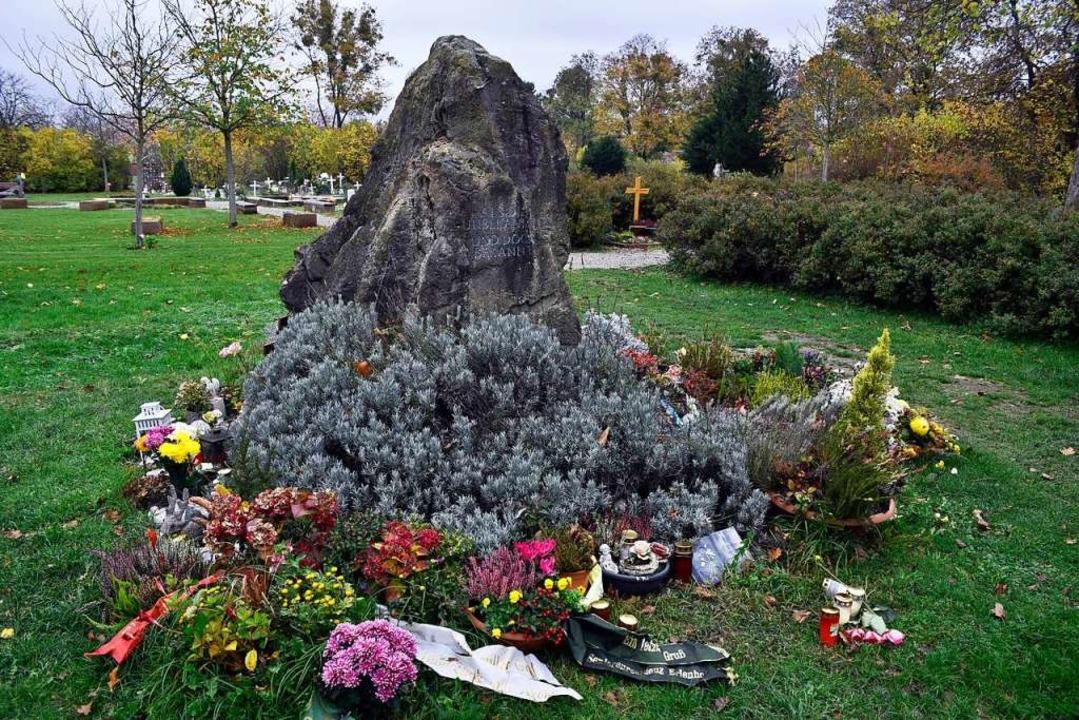 Das Denkmal für anonym Bestattete auf dem Freiburger Hauptfriedhof  | Foto: Thomas Kunz
