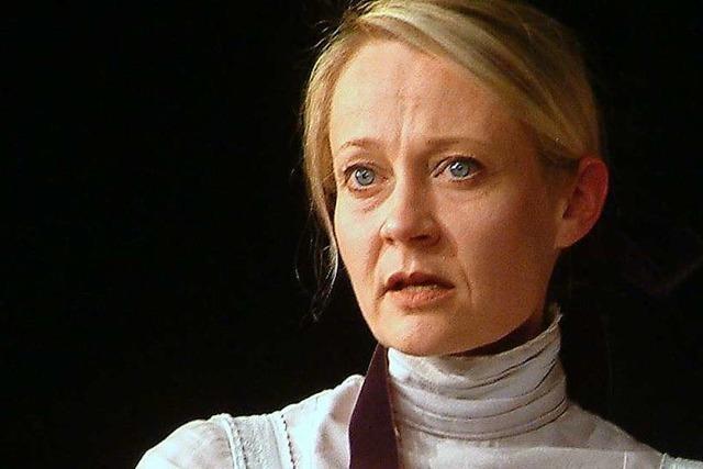 Nach acht Monaten Pause steht die Basler Schauspielerin Satu Blanc wieder auf der Bühne