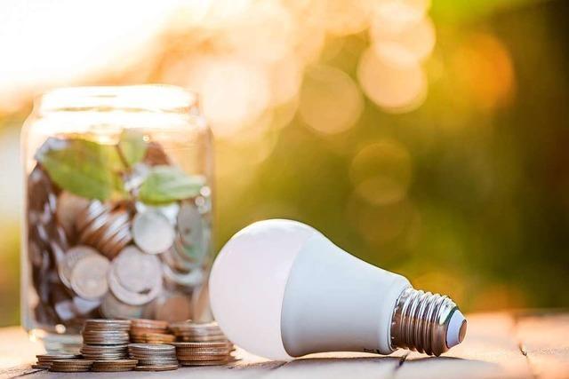 Stromspartipps für mehr Umweltschutz und weniger Kosten
