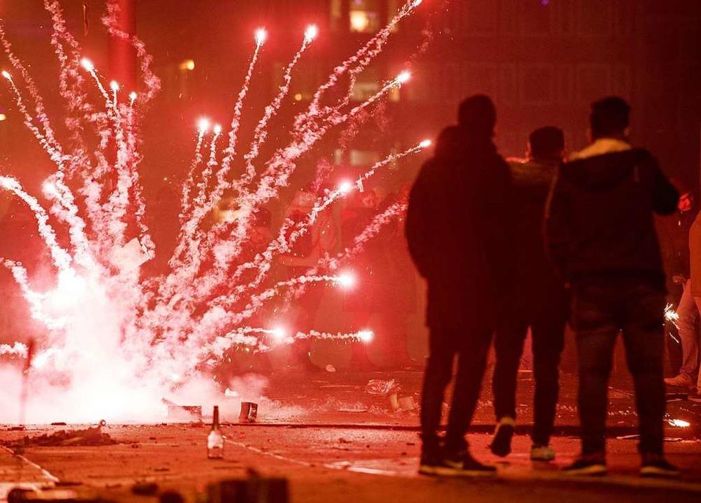 Feuerwerk an Silvester (Symbolbild)  | Foto: Ingo Wagner