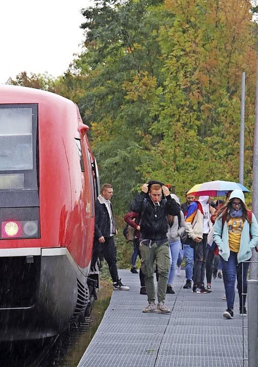 Noch wird die Wutachtalbahn vorwiegend...m Angebot ab dem  16. Dezember ändern.  | Foto:  Südkurier