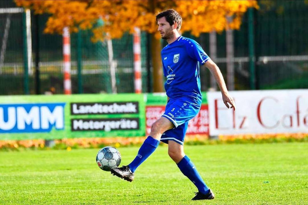Seit anderthalb Jahren im Trikot des FC Waldkirch: Maximilian Leyser  | Foto: Achim Keller