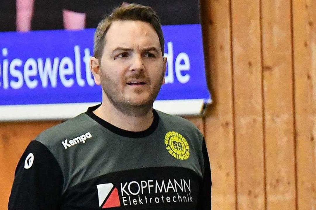 Keine Spiele bis Weihnachten, schätzt ...Leiter bei der SG Köndringen-Teningen.  | Foto: Achim Keller